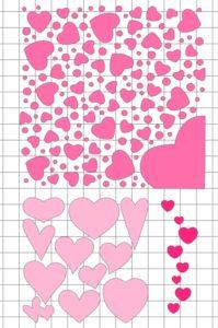 Сердце-открытка