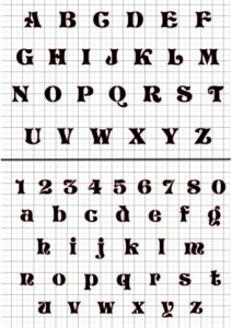алфавит вивиан