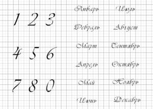 вечный календарь вивальди2,5циф1,5-8,5мес