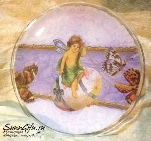 Тарелка пасхальная 1